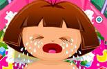 Baby Dora Diaper Change