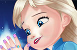 Baby Elsa Great Manicure