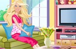 Barbies Cosy Room Decorating