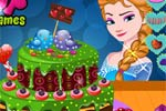 Elsas Valentines Day Cake