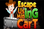 Escape Using Mining Trolley