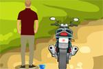Forest Bike Escape