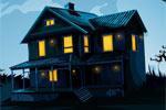 Haunted Mirror House Escape