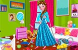 Princess Elsa Bedroom Cleaning