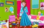 Princess Elsa Bedroom Cleaning