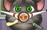 Talking Tom Nose Doctor
